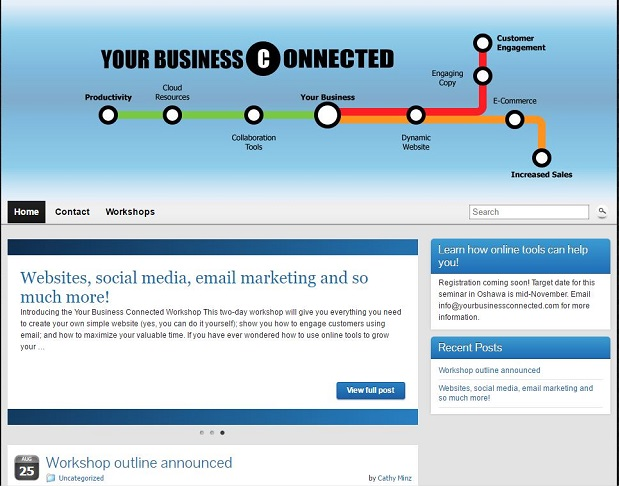 Your Business Connected website